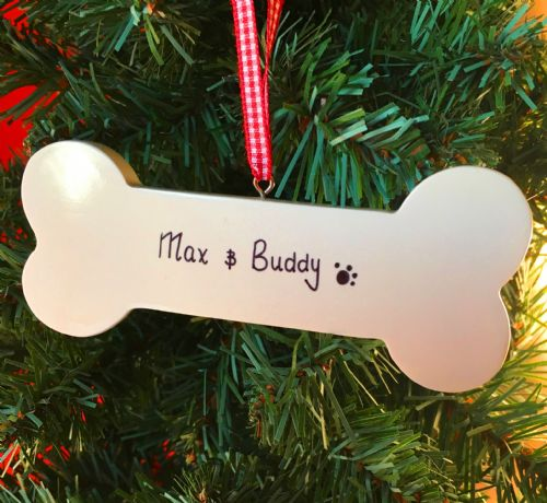 Dog Bone - Personalised